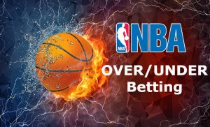 NBA over/under betting