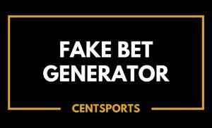 Fake Bet Generator