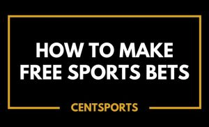 How to Make Free Sports Bets