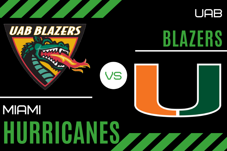 UAB Blazers vs. Miami Hurricanes Spread Pick & Prediction